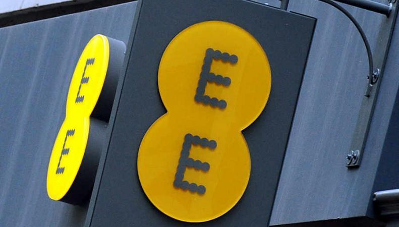 логотип мобильного оператора ЕЕ