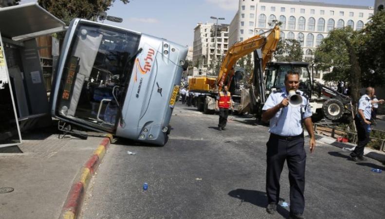 Теракт на экскаваторе в Израиле