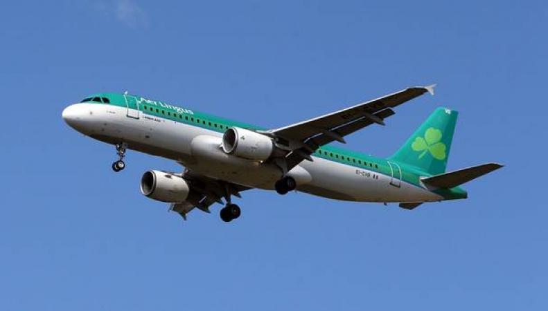 Самолет авиакомпании Aer Lingus