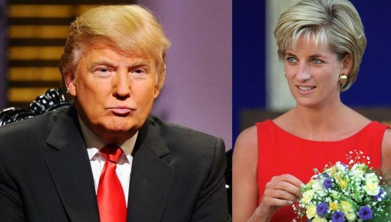 Трамп хотел, чтобы Диана стала его женой – Daily Mail