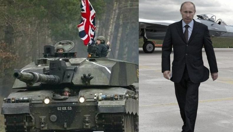 Британия продолжит борьбу с Путиным в Восточной Европе
