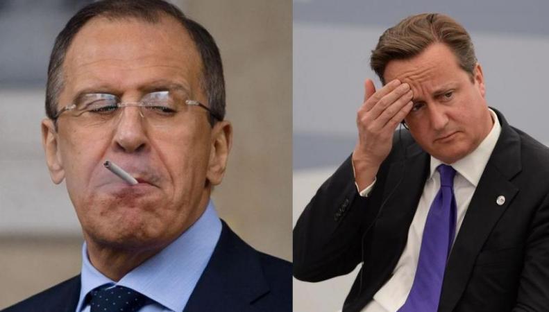 Россия потроллила Дэвида Кэмерона в твиттере