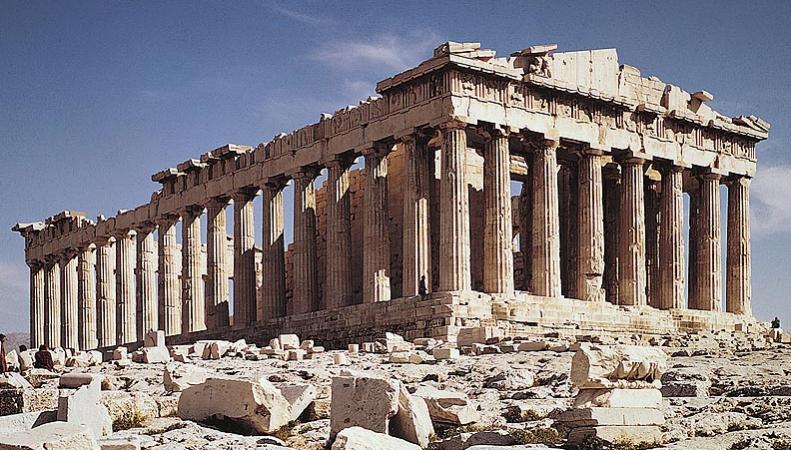 Британский музей передал в Эрмитаж скульптуру из Парфенона
