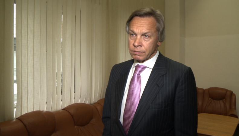 Алексей Пушков, руководитель российской делегации в ПАСЕ