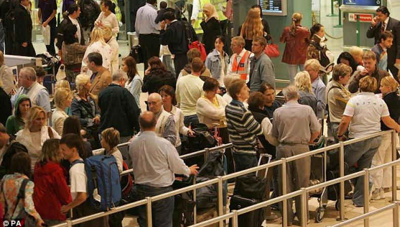 паспортный контроль в Хитроу