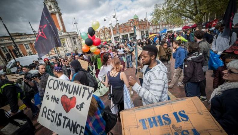 протест в Брикстоне
