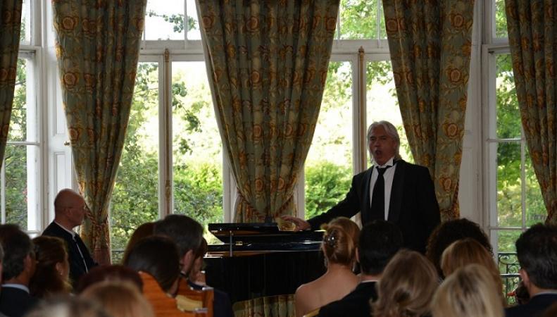 Концерт Дмитрия Хворостовского в Посольстве России в Великобритании