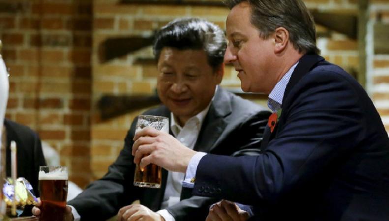 Фото главы Китая помогло британской пивоварне увеличить экспорт в 16 раз