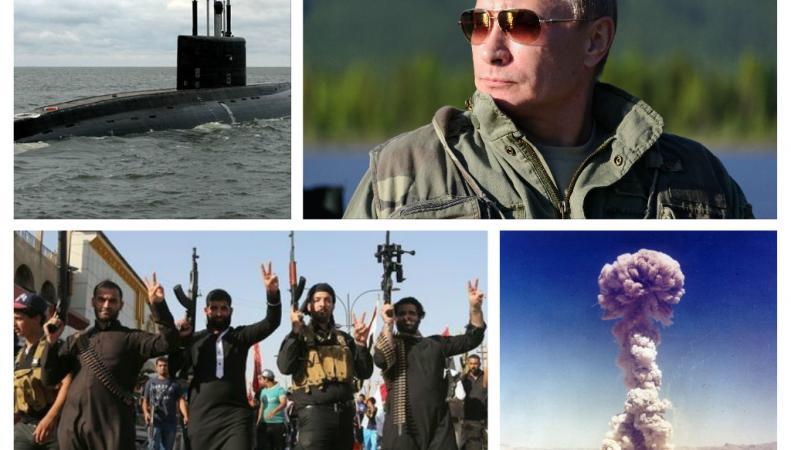 Путин пригрозил ядерным оружием  ИГИЛ – СМИ Британии