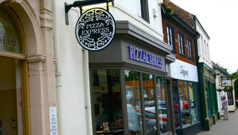 Ресторан Pizza Express