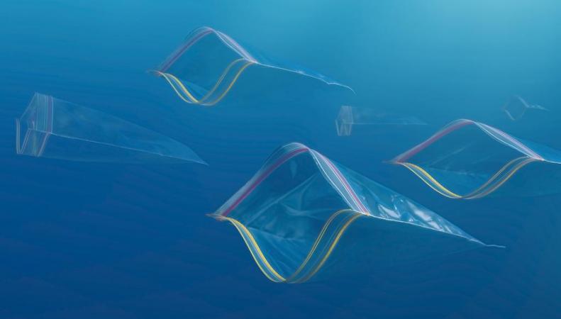 Пластик добрался до глубин морей