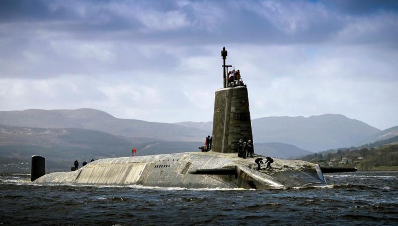 Британия может лишиться своих ядерных сил