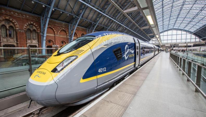 Поезда  Eurostar прекратят курсировать из Лондона на юг Франции