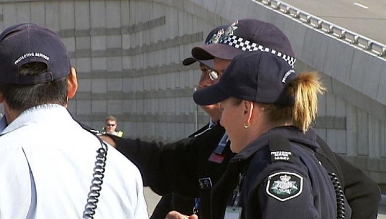австралийская полиция  задержала террориста