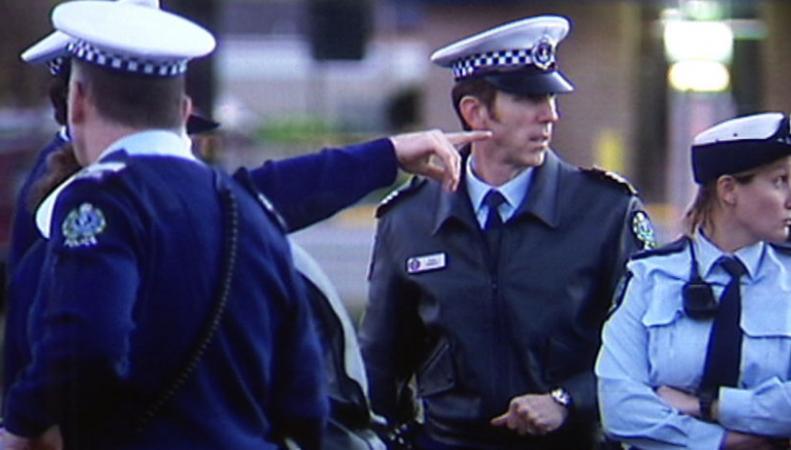 Полицейские Мельбурна