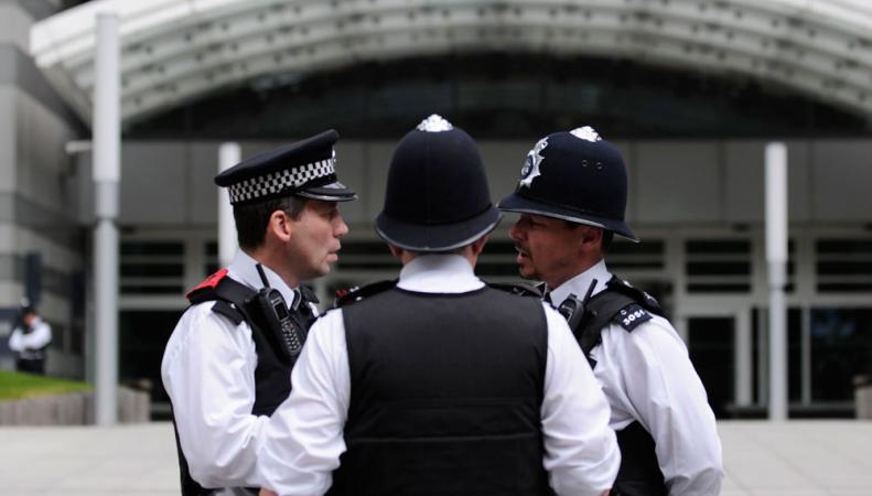 Английские полицейские