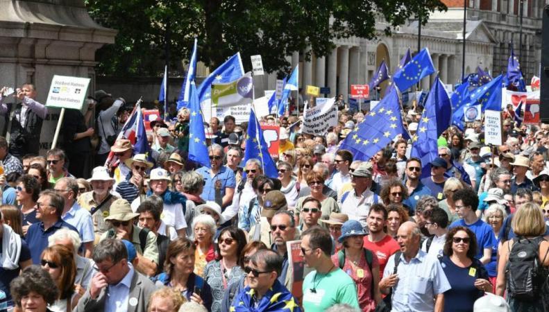 марш за повторный референдум