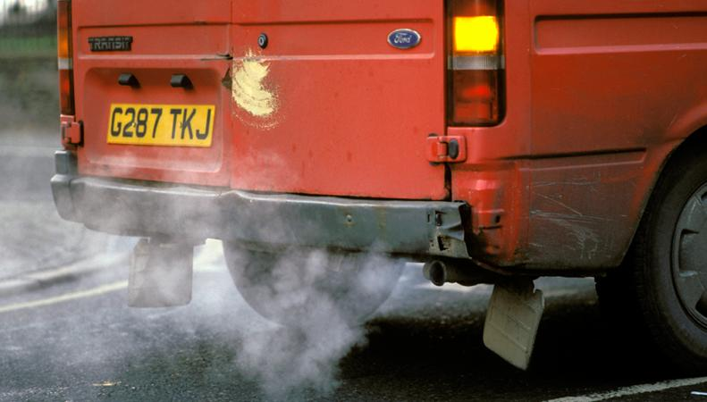 загрязнение воздуха выхлопами