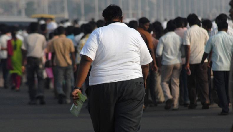 Проблема ожирения в Великобритании, фото: EPA/NATHAN G.