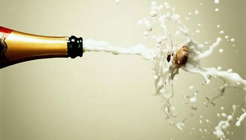 брызги шампанского