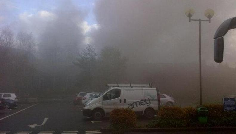 Взрыв в сауне отеля Англии
