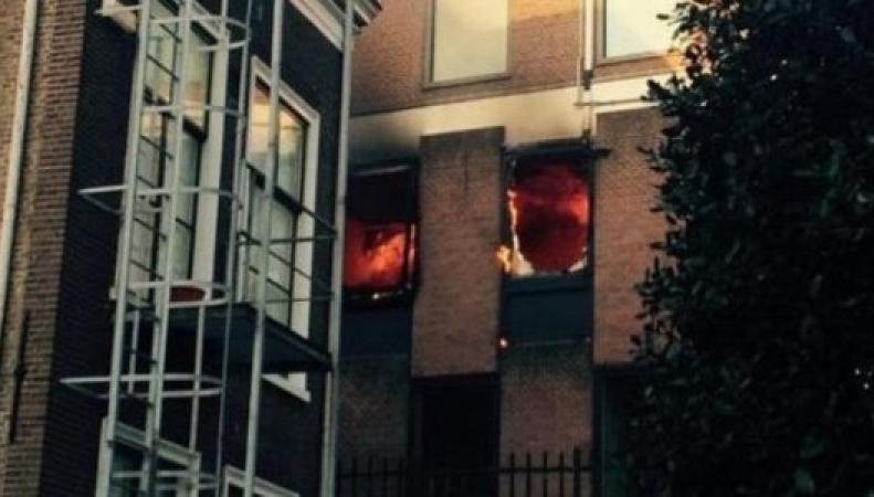 В британском посольстве в Гааге произошел пожар