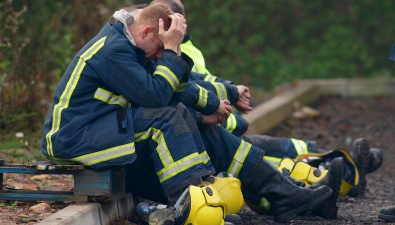 Пожарные Англии
