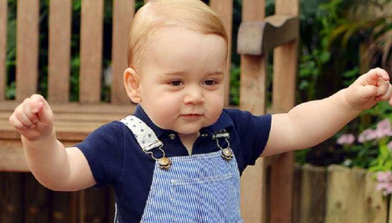 Новое фото принца Джорджа