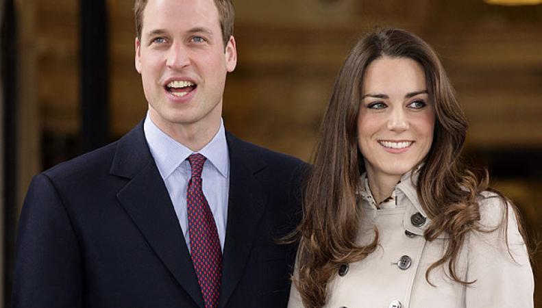 Уильям и Кейт накормили завтраком поклонников, ожидающих рождения ребенка