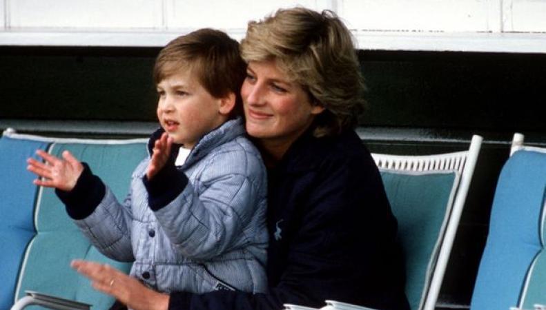 леди Диана и принц Уильям