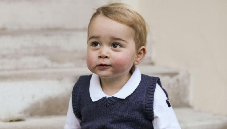 Ученые смоделировали облик принца Джорджа в будущем