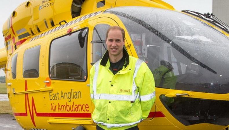 Уильям спас девочку после автокатастрофы
