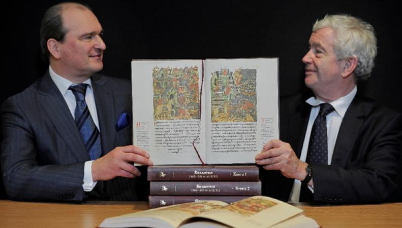 Эдинбургский университет получил в подарок Лицевой Летописный Свод Ивана Грозного