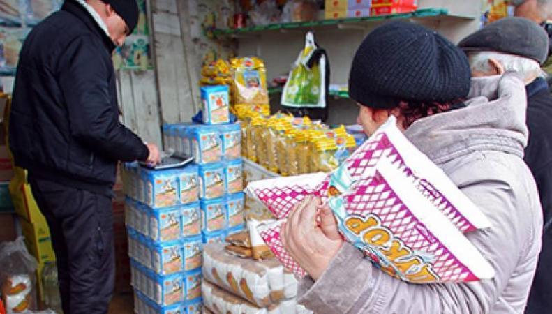 Украина ввела продовольственное эмбарго в отношении России