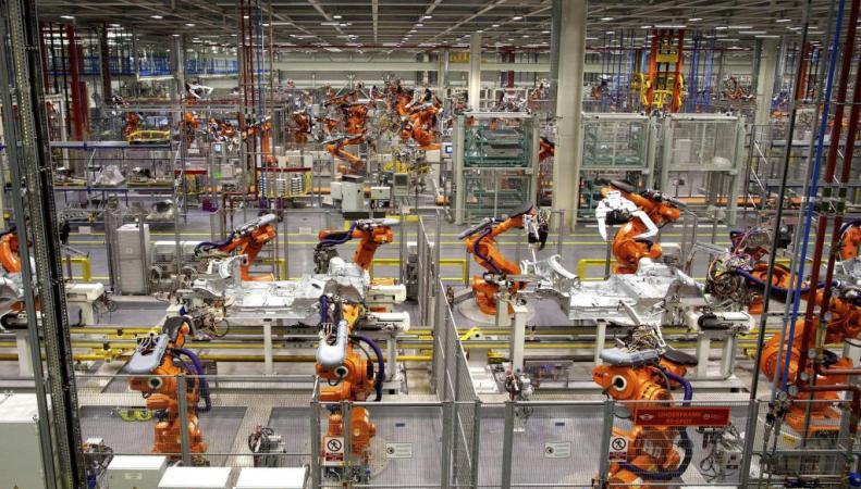 Завод BMW в Оксфорде