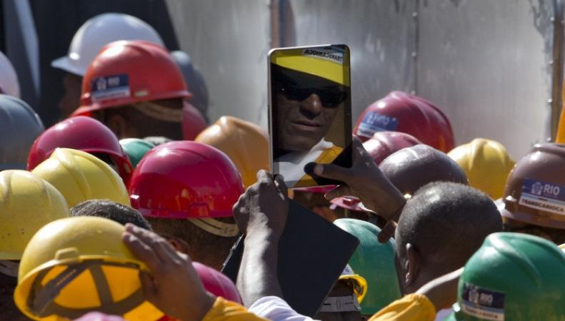 Забастовки в Бразилии, фото: Silvia Izquierdo