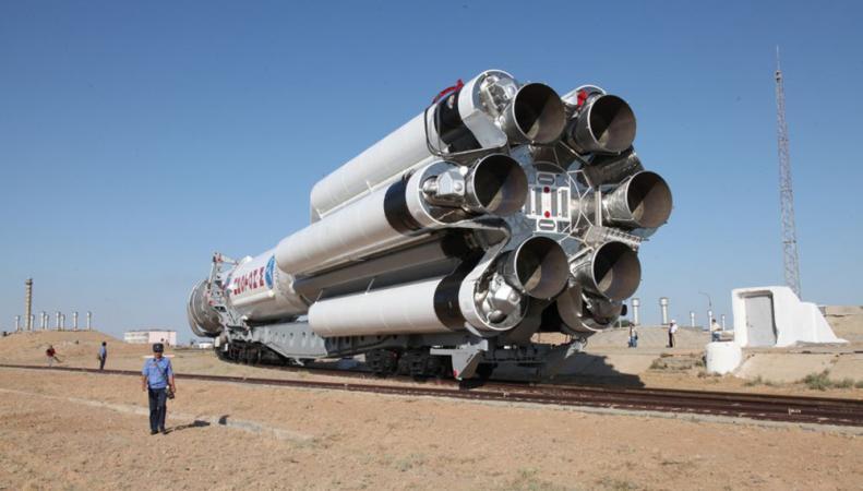 """Ракета-носитель """"Протон-М"""", фото: ИТАР-ТАСС"""