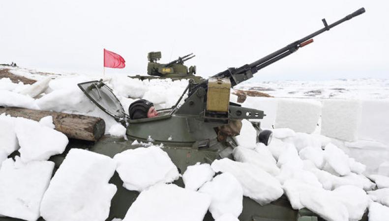 Российские военные базы в Арктике – насмешка Путина