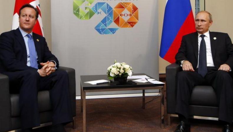 Путин и Кэмерон