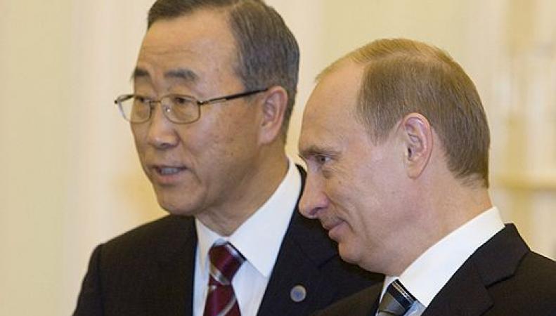 главы ООН и РФ