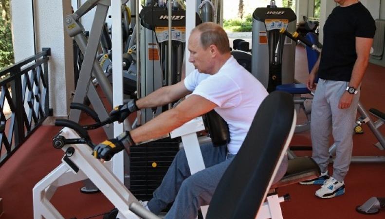 Западная пресса обсуждает спортивную форму и гардероб Путина