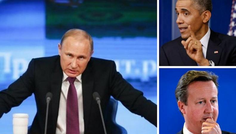 """Путин выставил Запд """"нерешительными бумажными тиграми"""""""