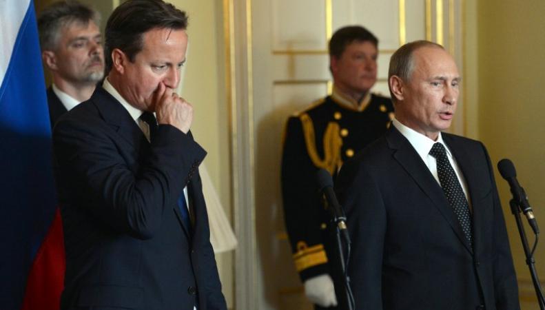 Путин и Кэмерон поссорились