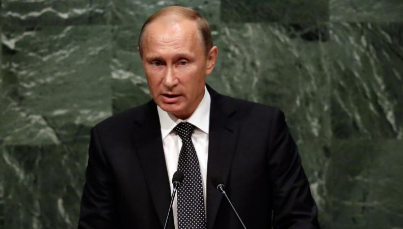 Путин выступил на ГА ООН