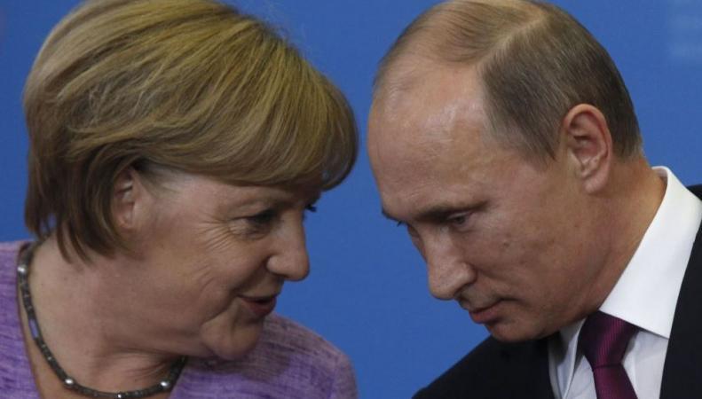 В Милане состоялась встреча Путина и Меркель