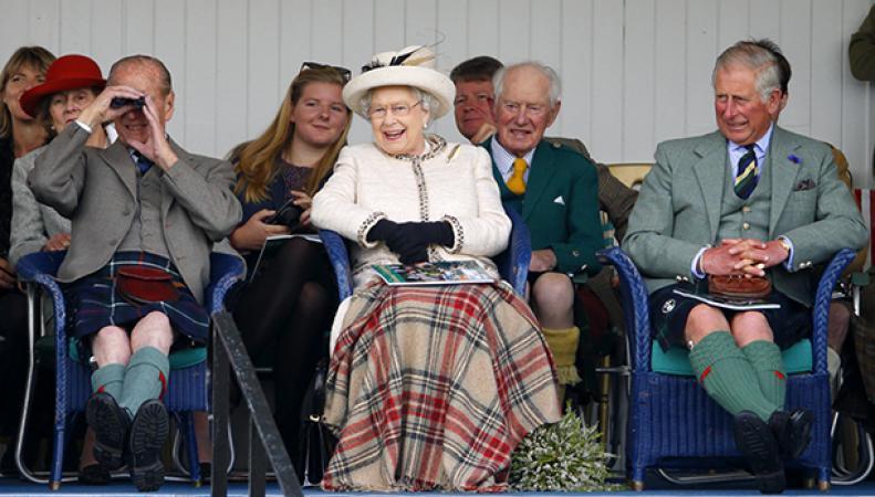 королева Елизавета в Бремаре