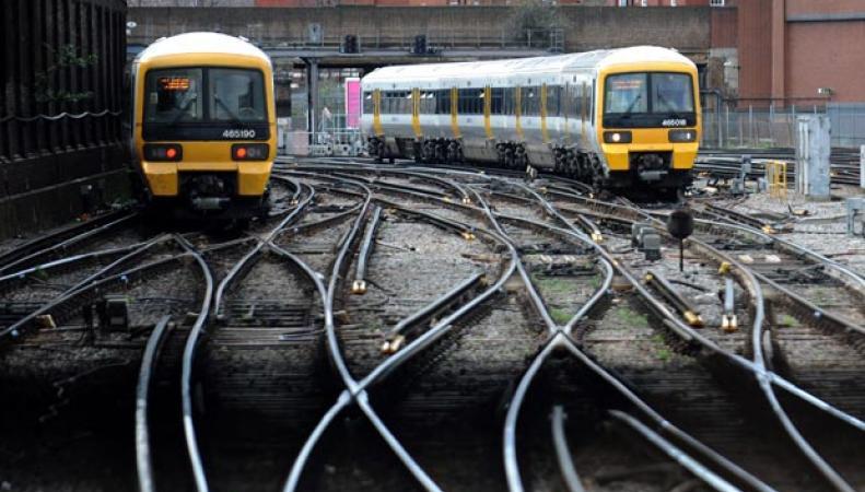 Лондонская железная дорога