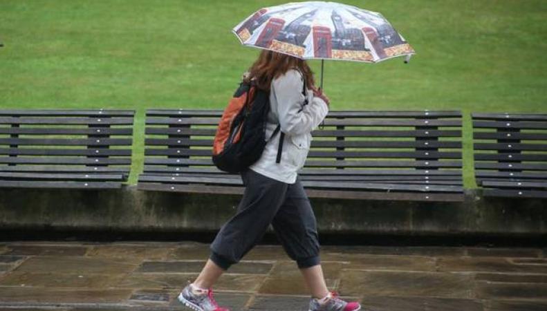 Дожди в Англии