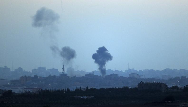 Израиль, ракетные удары