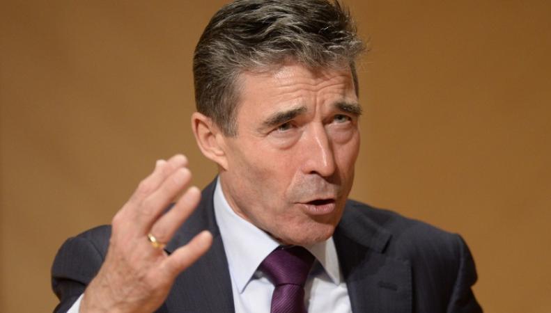 Андерс Фог Расмуссен, генеральный секретарь НАТО